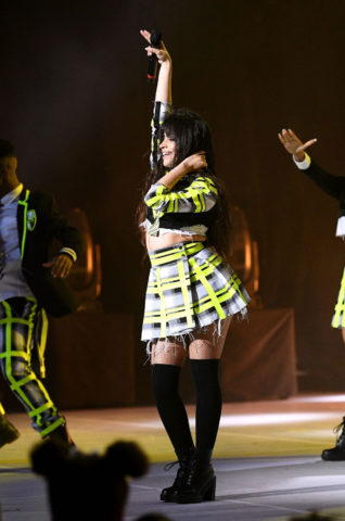 Camila Cabello performance at the Global Awards 2020 in London
