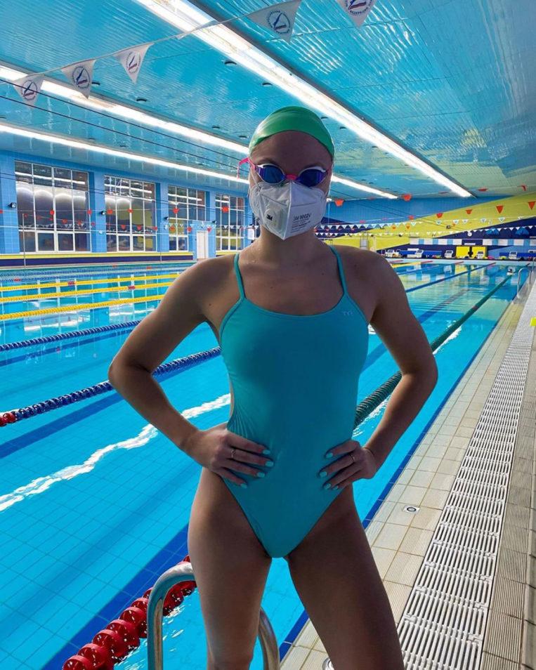 Daria Mullakaeva Russian Swimmer Personal Photos