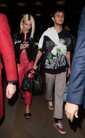 Dua Lipa and Anwar Hadid Night Out in London