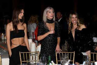 Emily Ratajkowski at Art Production Fund Gala Honoring Tom Sachs & Sarah Hoover in NYC