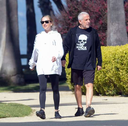 Jennifer Meyer Out with Her Father Ronald in Los Angeles