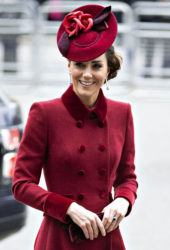 Kate Middleton at the Commonwealth Day Service at Westminster Abbey