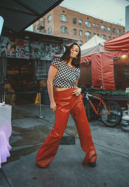 Kira Kosarin at a photoshoot, March 2020
