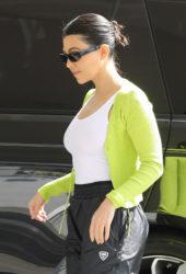 Kourtney Kardashian Out in Studio City