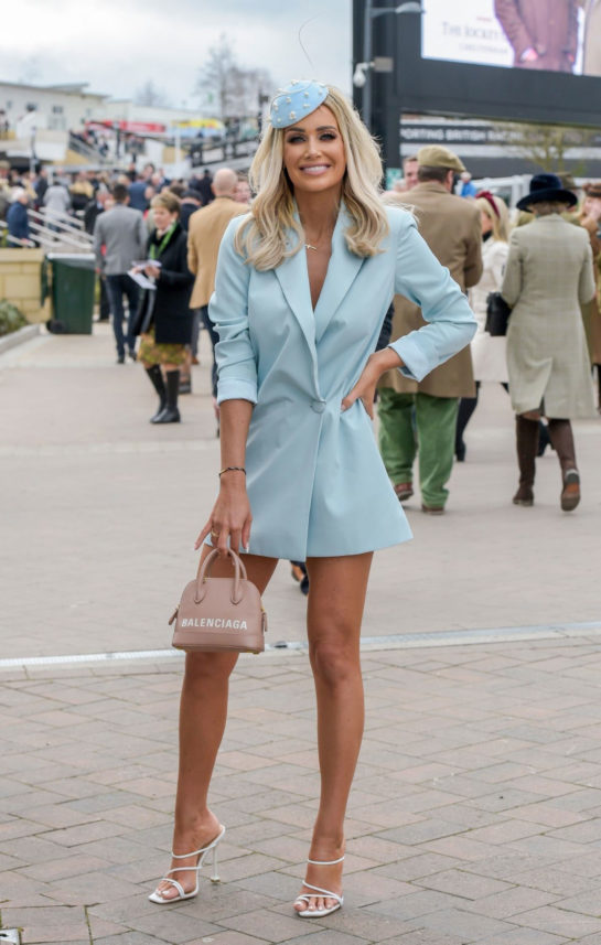 Laura Anderson at Cheltenham Festival in Gloucestershire