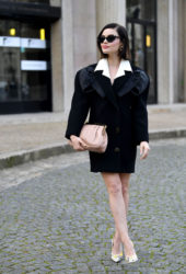 Lucy Hale at Miu-Miu Show at Paris Fashion Week