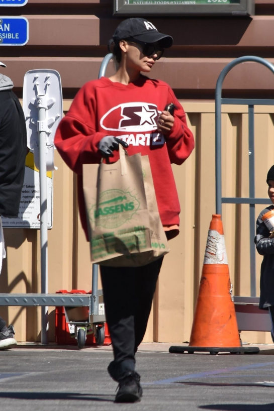 Naya Rivera Out and About in Los Feliz