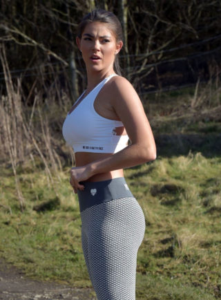 Rebecca Gormley Workout Session in Newcastle