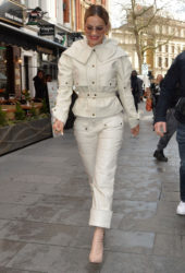 Rita Ora leaves her home in Notting Hill, London