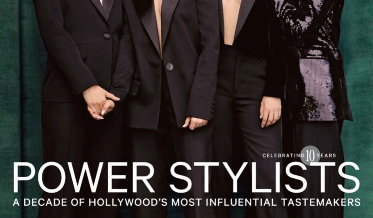 Magazine Covers – Zoey Deutch and Ana de Armas in The Hollywood Reporter, Power Stylists Issue