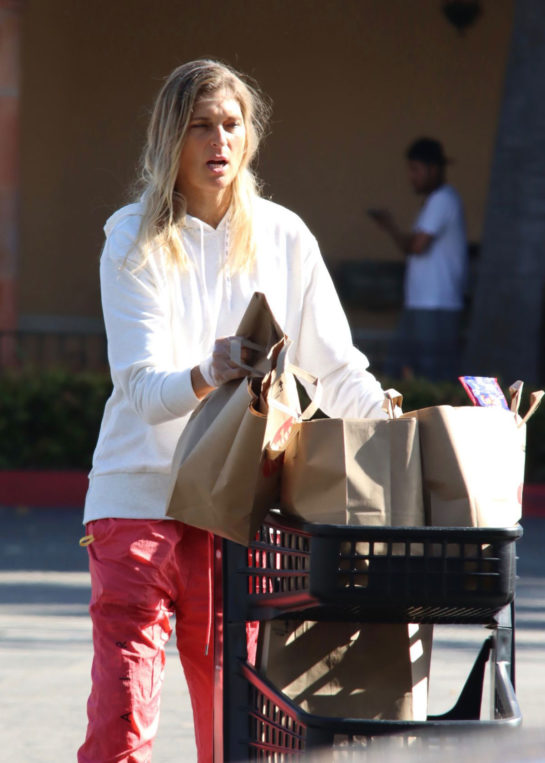 Gabrielle Reece Out Shopping in Los Angeles