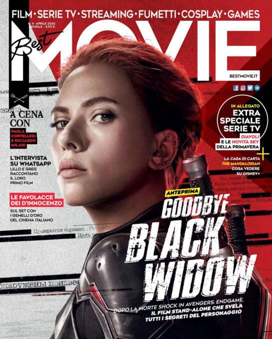 Scarlett Johansson in Best Movie Magazine, Italy April 2020