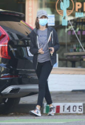 Calista Flockhart Out in Santa Monica
