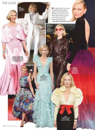 Cate Blanchett in InStyle Magazine June 2020