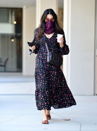 Jessica Gomez Out and About in Los Angeles