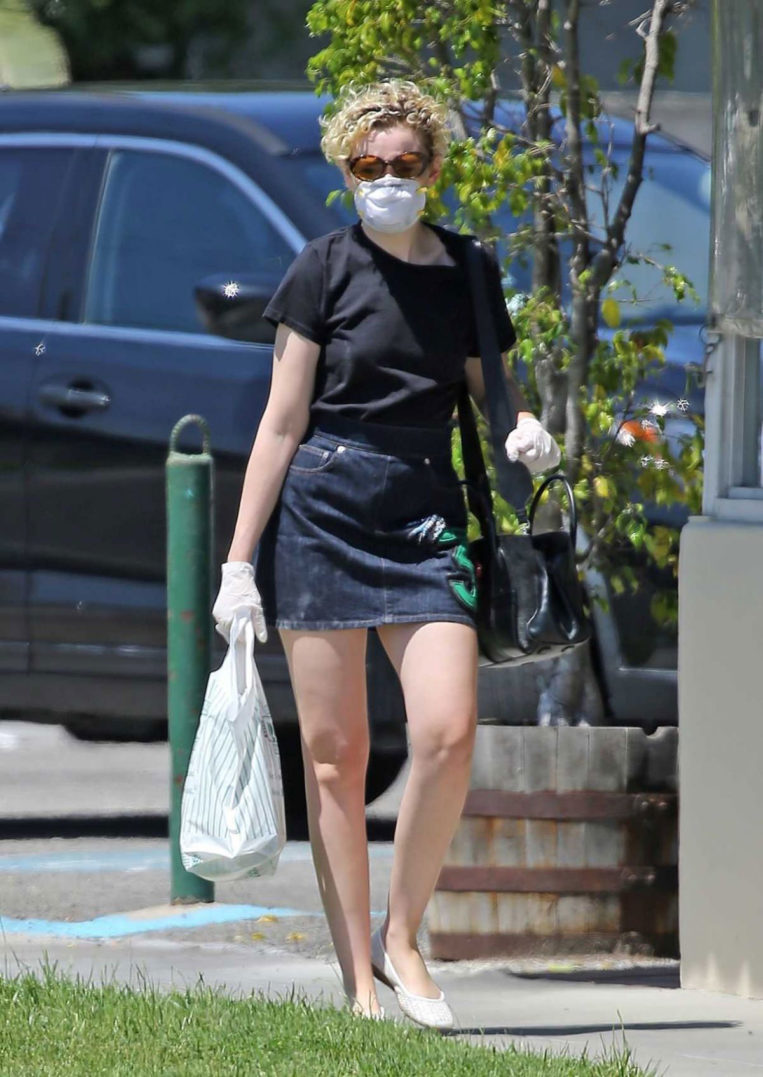 Julia Garner Out and About in Burbank