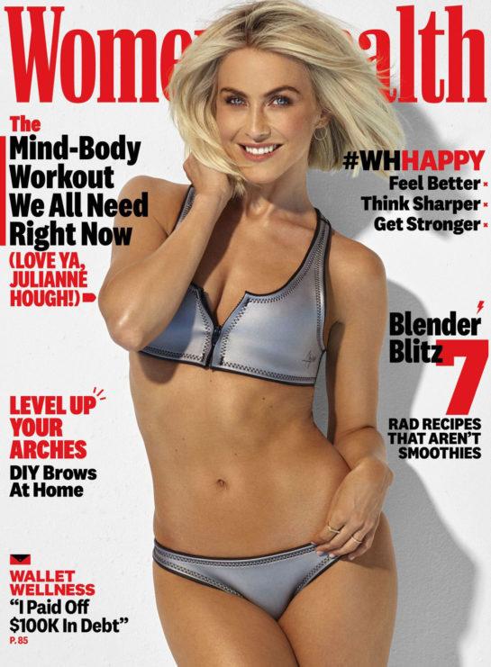 Julianne Hough in Women's Health Magazine, 2020