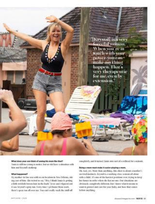 Kirsten Dunst in CBS Watch! Magazine, May 2020