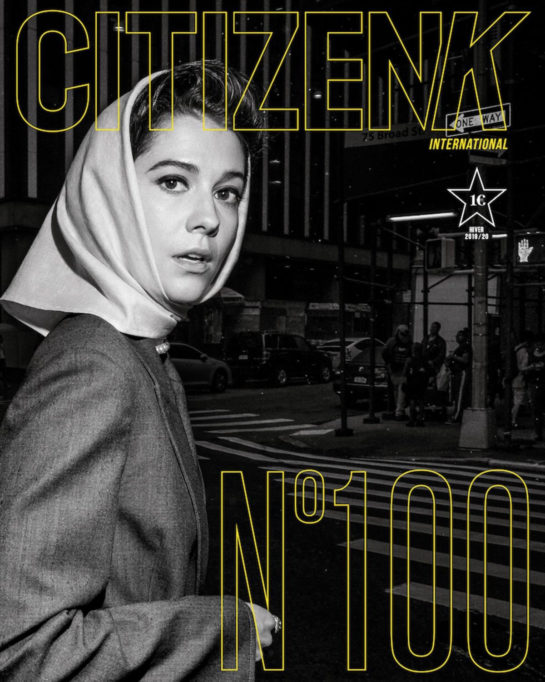 Mary Elizabeth Winstead for Citizen K Magazine Issue Nº100 2019/2020