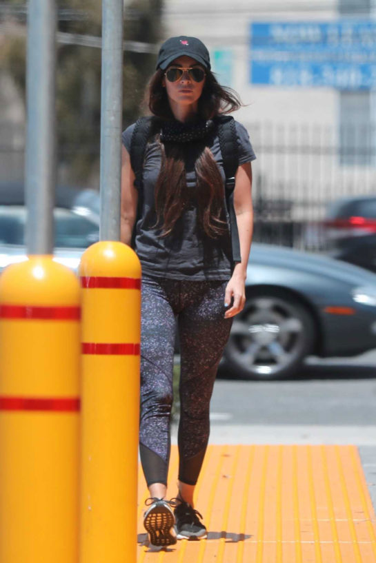 Megan Fox Shopping at CVS Pharmacy in Calabasas