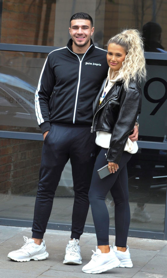 Molly-Mae and Tommy Fury Out in Manchester