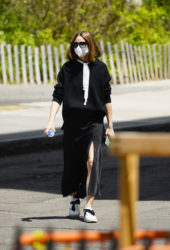 Olivia Palermo Out and About in Brooklyn