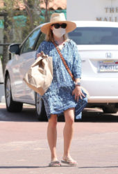 Reese Witherspoon Out and About in Malibu