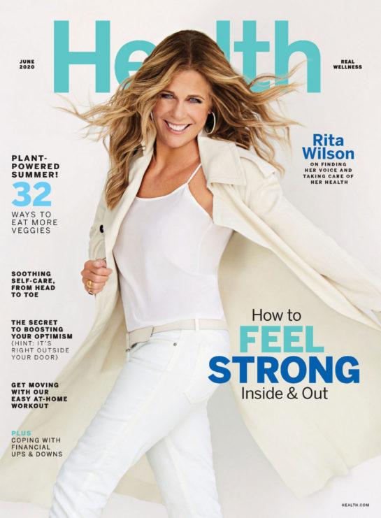 Rita Wilson in Health Magazine, June 2020