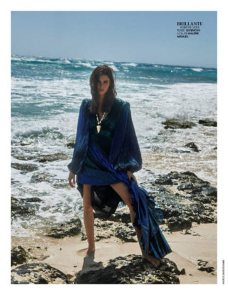 Vanessa Moody in Madame Figaro, France May 2020