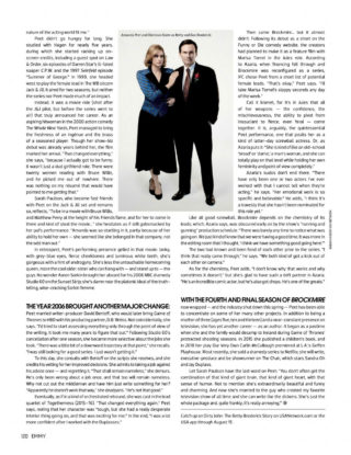 Amanda Peet in Emmy Magazine June 2020