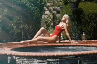Brooklyn Clift for 138 Water Photoshoot in Calabasas