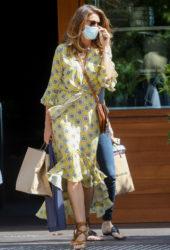 Cindy Crawford Leaves Soho House in Malibu