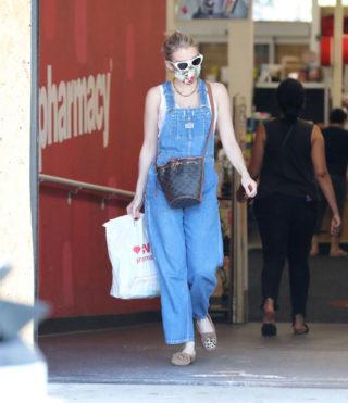 Emma Roberts at CVS Pharmacy in Studio City