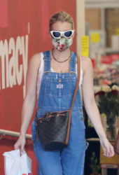 Emma Roberts at CVS Pharmacy in Studio City