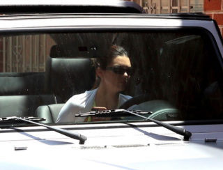 Kendall Jenner leaving the gym in Beverly Hills