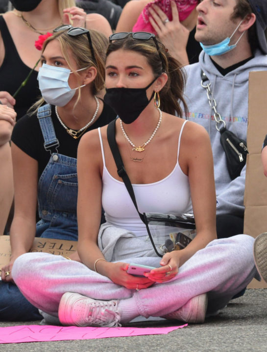 Madison Beer expresses her solidarity with the Black Lives Matter movement