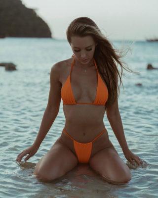 Nicky Gile in Bikini Instagram photos
