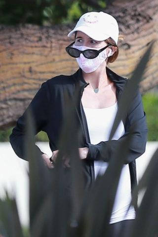 Pregnant Katherine Schwarzenegger Out in Santa Monica