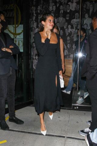 Sara Sampaio leaving Catch LA in West Hollywood