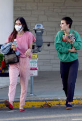Tallulah and Scout Willis Out for Dinner in Los Angeles