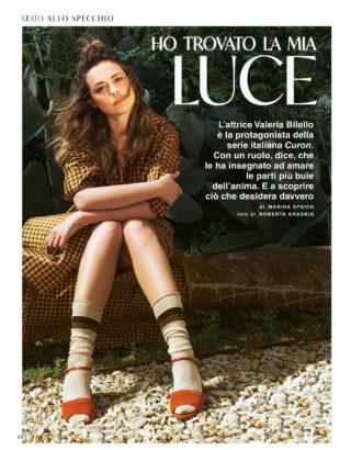 Valeria Bilello in Grazia Magazine, Italy June 2020