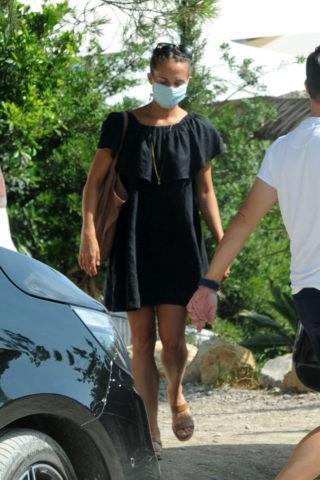 Alicia Vikander Out in Ibiza