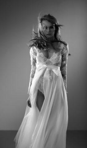 Anastasiya Scheglova Black and White Photoshoot 2020