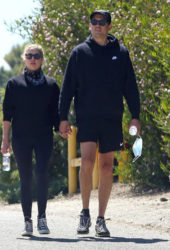 Ashley Benson and G-Eazy Out Hiking in Los Angeles