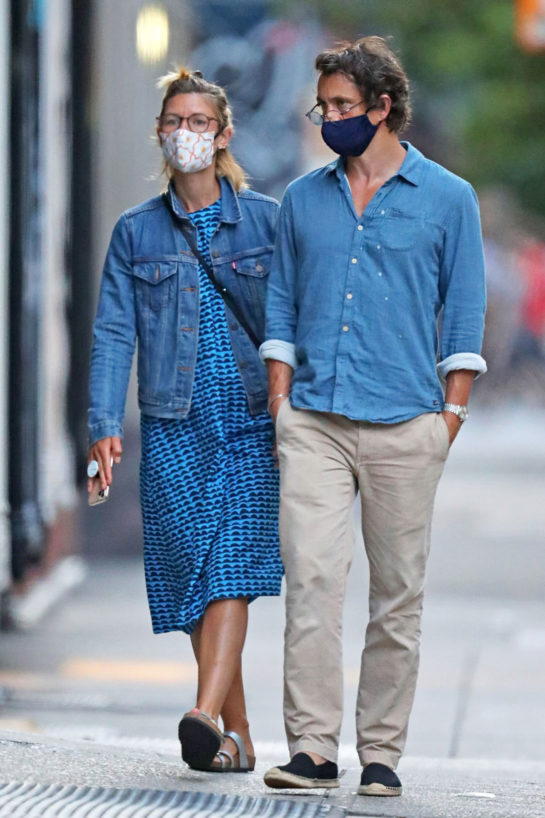 Claire Danes and Hugh Dancy Out in New York