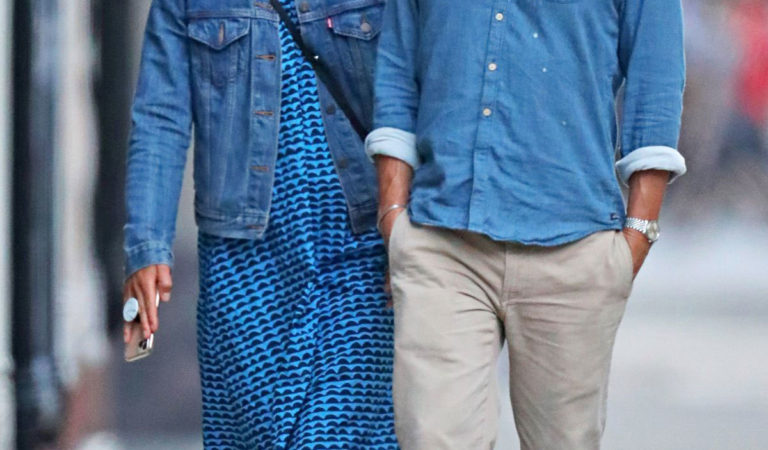 Street Style – Claire Danes and Hugh Dancy Out in New York
