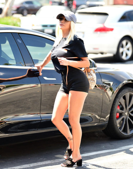Courtney Stodden in Tight Shorts Out in Hollywood