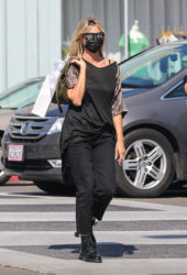 Heidi Klum Shopping on Rodeo Drive in Beverly Hills