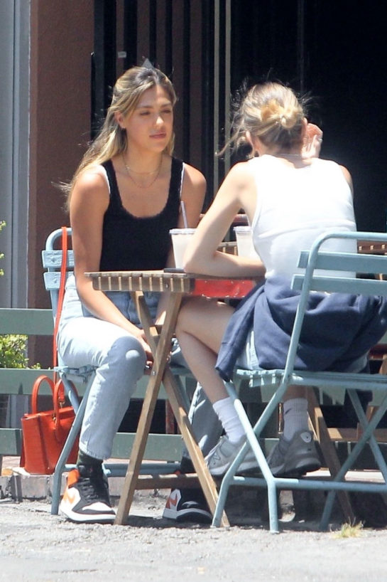 Sistine Stallone Out for a lunch in Beverly Hills