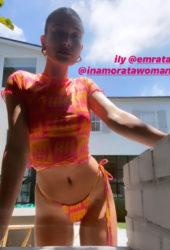 Hailey Bieber in Inamorata – Instagram photos